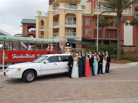 Prom Limo Packages by Destin Florida Wedding Prom And Corporate Limo Specials