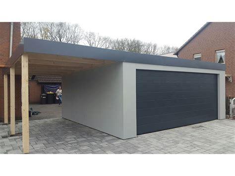 fertiggarage mit carport bilder garagen und carport kombinationen