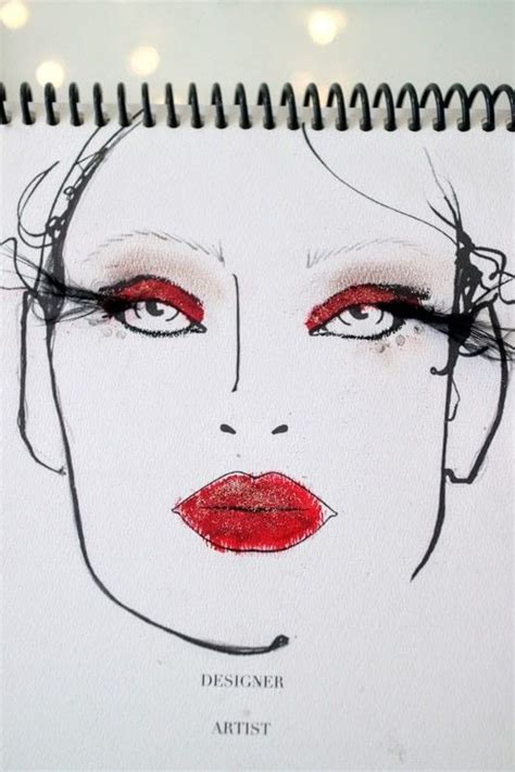 moulin rouge     create  red eye makeup