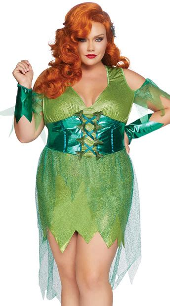 size perfect poison costume  size green poison