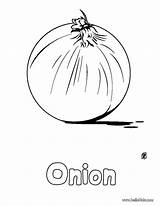 Onion Coloring Pages Vegetable Onions Pepper Basket Vegetables Sheet Printable Template Templates Hellokids Getcolorings Ziyaret Et Perfect There Colorings sketch template