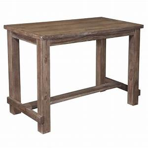 Ashley Pinnadel Bar Height Dining Table in Light Brown