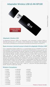 Adaptador Wifi Usb Dongle Para Tv Lg Wireless An