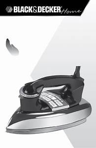 Black And Decker Iron Manual Icr505