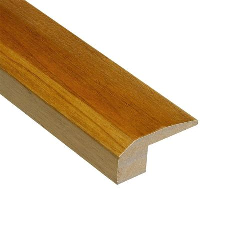 home depot flooring reducers home legend teak natural 3 8 in thick x 2 1 8 in wide x 78 in length hardwood carpet reducer