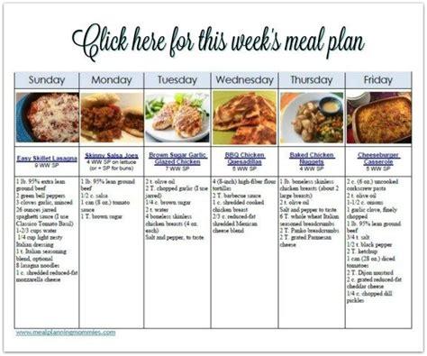 comfort food list best 25 weight watchers meal plans ideas on