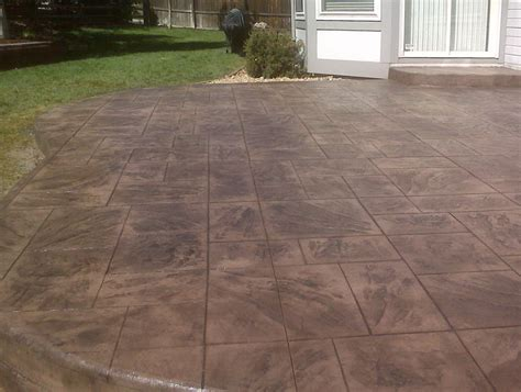 patio sted concrete ideas sted concrete backyard ideas 28 images decorative concrete patio xtreme polishing system s