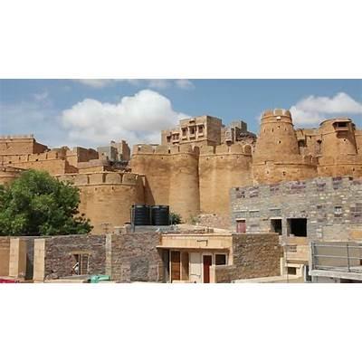 JAISALMER INDIA CIRCA SEPTEMBER 2014 - The Fort Entrance