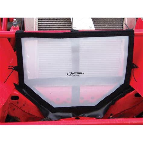radiator screens outerwears 11 2332 12 speed screen radiator protector imca modified