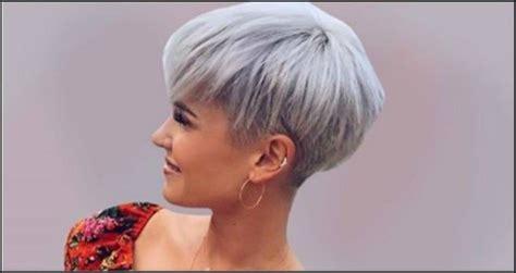 undercut frau kurze haare  modische frisuren