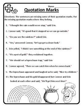 st patricks day grammar quotations st patricks day