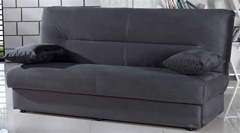 canape bz banquette clic clac couleur gris large gamme de convertibles
