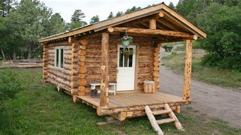 Small Log Cabin Build Small Log Cabin Homes Plans, Build