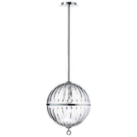 janus large clear globe pendant light by cyan design