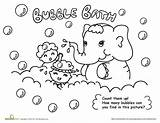 Coloring Bubble Bath Pages Washing Hand Hygiene Personal Worksheets Printable Activities Bubbles Preschoolers Many Fun Drawing Worksheet Preschool Hands Sheet sketch template