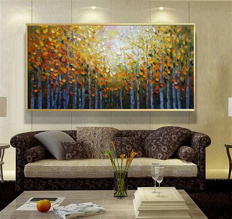 painting livingroom acrylic painting landscape modern paintings for living