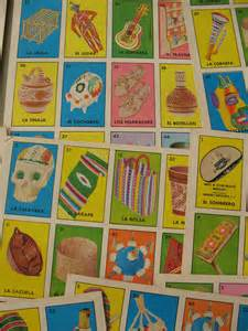 Mexican Loteria Game Card Templates