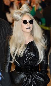 PICS Lady Gaga Does Airport Glam In Head To Toe Leather