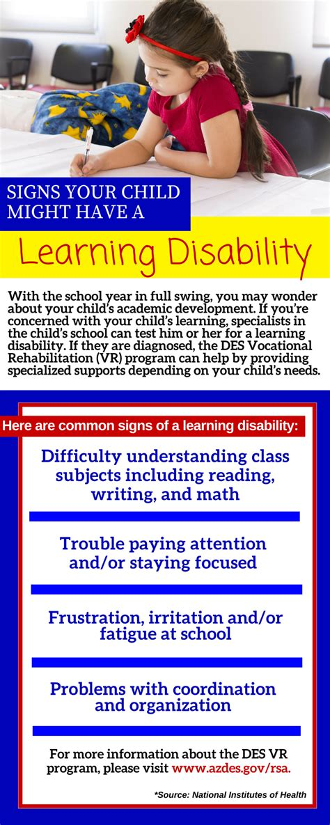 signs your child has a learning disability arizona 814 | Signs Your Child Has a Learning Disability