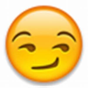 Smirking Face Emoji Stickers Pictures