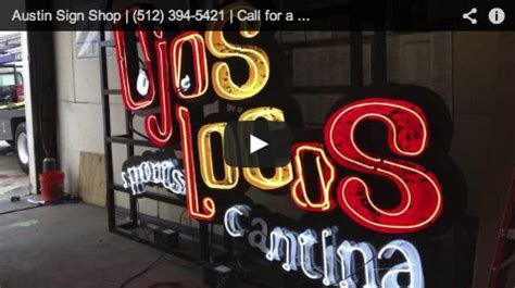 put    lights  channel letters austin sign company