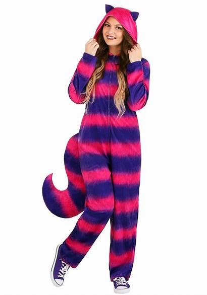 Cat Cheshire Onesie Adult Costume Costumes Alice