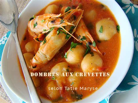 recettes de cuisine antillaise les dombrés aux crevettes fondant et délice dans l 39 assiette