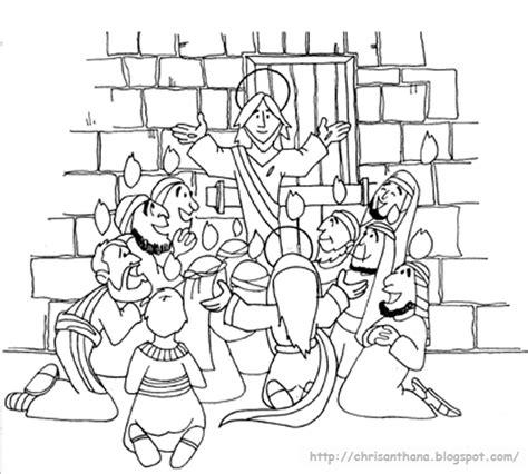 sekolah minggu ceria pentakosta hari turunnya roh kudus