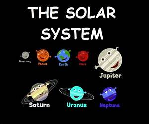 The solar system   My English class