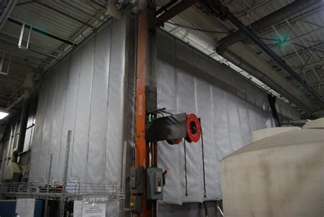 Noise Dening Curtains Industrial by Noise Curtains Industrial How To Reduce Industrial Noise