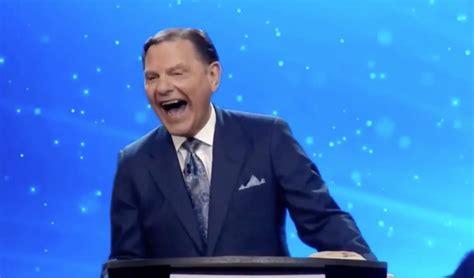 kenneth copeland laughs  joe bidens  election win