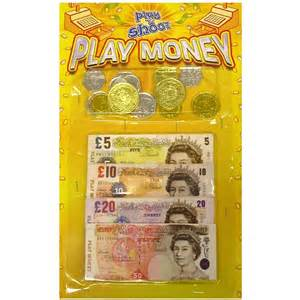 cheap flowers delivery 12 x pounds play money coins notes wholesale bulk buy