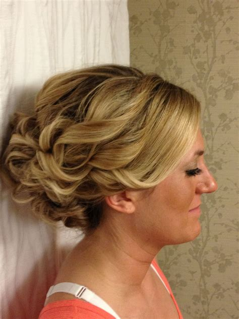 Updo Hairstyles For Hair by Updo For Thick Hair For Homecoming Or A Wedding