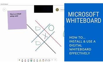 Microsoft Whiteboard screenshot #5
