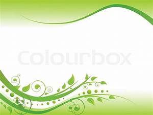 1591401-illustration-of-floral-border-in-green-with-copy