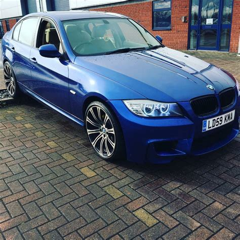 Modified White Bmw 3 Series by Bmw 3 Series E90 2 Litre 4 Door Saloon M Sport Modified