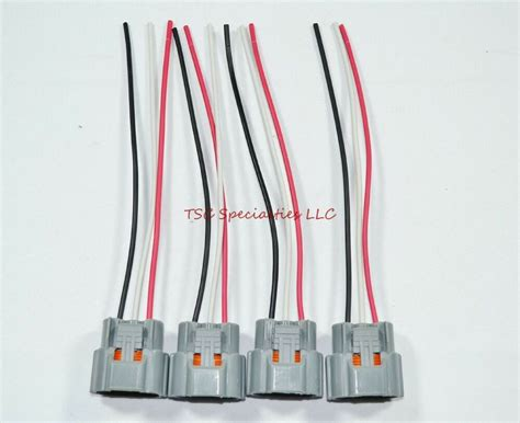 Rb20 Wiring Harnes by 4 Ignition Coil Connectors For Nissan Skyline Harness