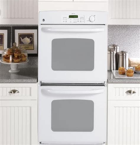 ge jkpdp   double electric wall oven   cu ft extra large oven capacity