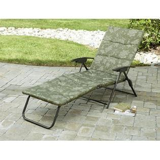 smith cora padded folding chaise outdoor living
