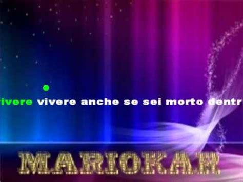 Vasco Karaoke Vasco Vivere Karaoke