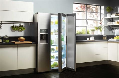 cuisine americain refrigerateur americain samsung rh57h90507f food showcase