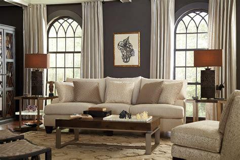 living room neutral  eclectic  brooke sofa