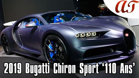 At first glance, it looks like the entire body of the special edition bugatti is one. 2019 Bugatti Chiron Sport '110 Ans' Edition - Geneva Motor Show * A&T Design - YouTube