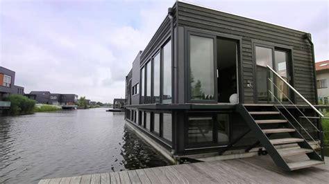 Woonboot Te Koop Broek In Waterland by Abc Arkenbouw Woonark Te Utrecht Youtube