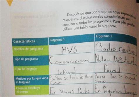 Libro de español 6 grado contestado pag 132. Alguien Que Tenga Contestado La Pagina 34 De El Libro De ...