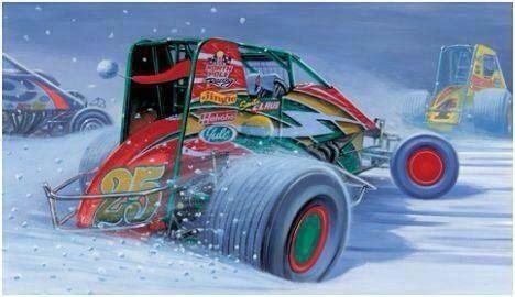 merry christmas non wing sprint car http perrisautospeedway com autospeedway speedway
