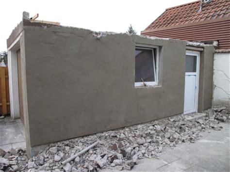 Projekt Von Der Garage Zur Werkstatt  Putz An Der