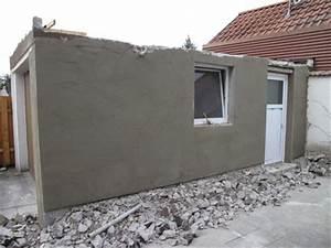 Putz Bröckelt Von Der Wand Was Tun : projekt von der garage zur werkstatt putz an der au enwand iii diy ~ Indierocktalk.com Haus und Dekorationen