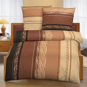Bettwäsche 135x200 Baumwolle : bettw sche garnitur 135x200 cm baumwolle 2 teilig savanne braun ebay ~ Orissabook.com Haus und Dekorationen