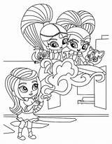 Shine Shimmer Coloring Pages Cartoon Print Printables Baby Rivets Kleurplaten Rusty Games Cartoons Appear Printable Bubakids Colouring Freebies Princess Para sketch template